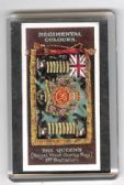 QUEEN'S 1st Bn REGIMENTAL COLOURS FRIDGE MAGNET